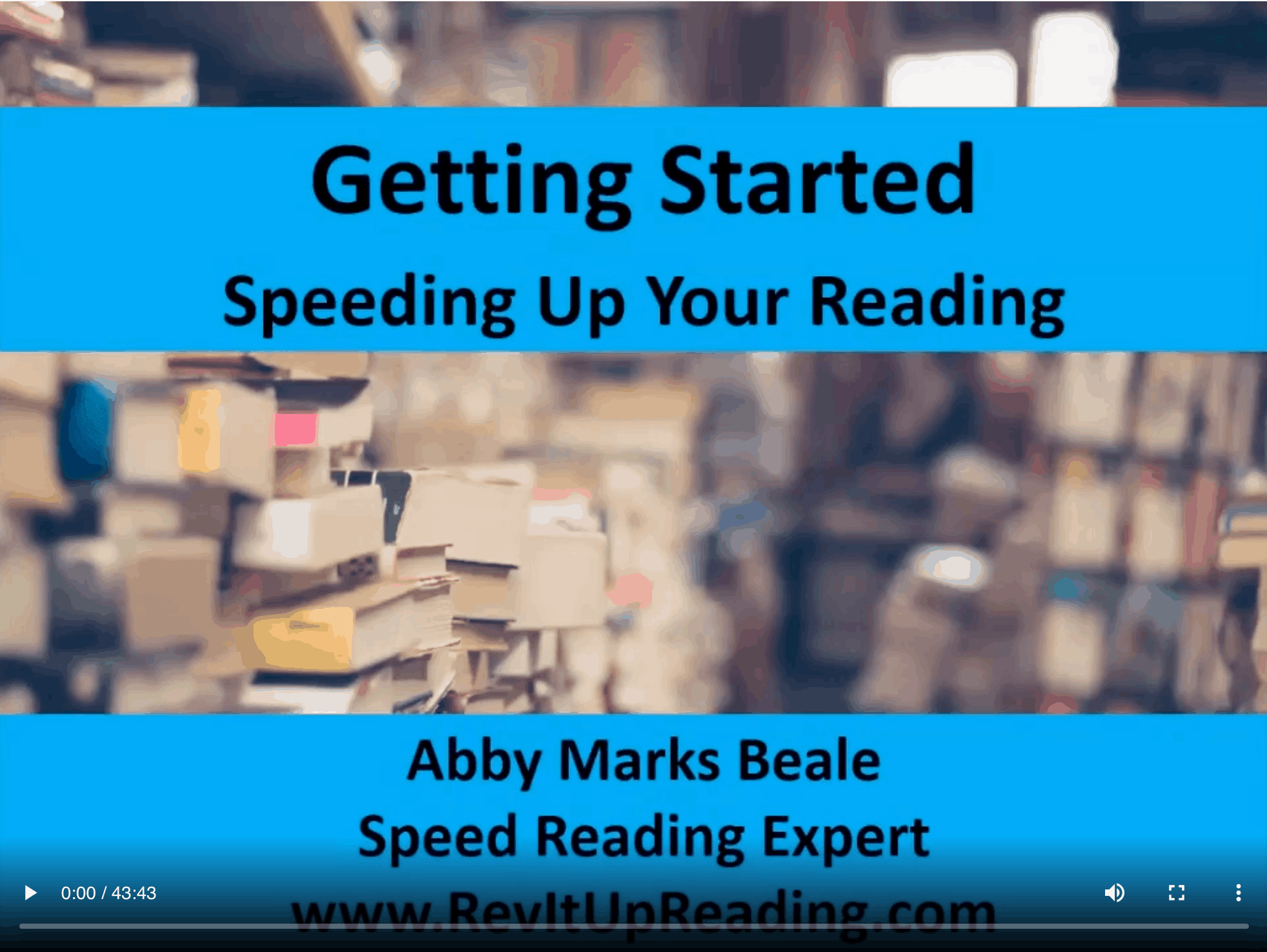how to increase reading speed